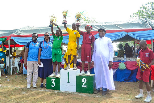 Bishop House was declared the winner at the biennial inter-house sports competition at St Joseph's Nursery and Primary School, Iseyin
