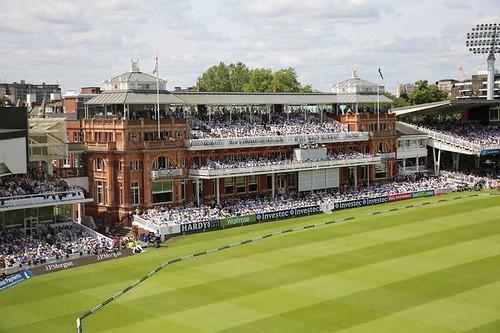 Gentleman's afternoon tea venues: Lord's Cricket