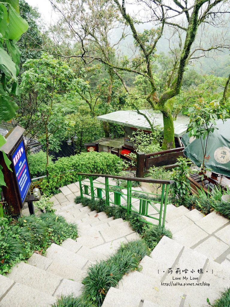 台北貓空景觀森林戶外餐廳推薦邀月茶坊 (6)