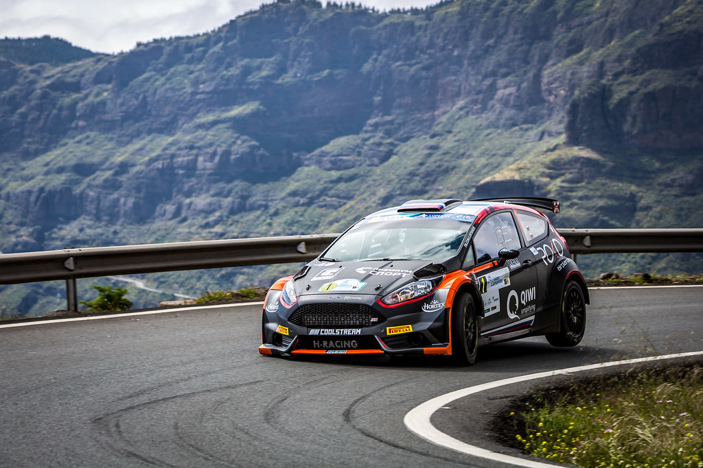 01 LUKYANUK Alexey (rus), ARNAUTOV Alexey (rus), Russian Performance Motorsport, FORD FIESTA R5, action during the 2018 European Rally Championship ERC Rally Islas Canarias, El Corte Inglés,  from May 3 to 5, at Las Palmas, Spain - Photo Thomas Fenetre / DPPI