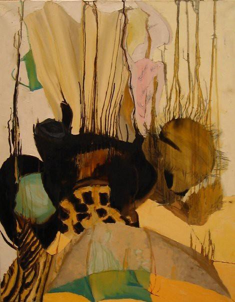 Chute - 92x73 cm. Oil on canvas 2006