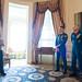 Astronauts Randy Bresnik and Paolo Nespoli Visit Marine Corps Barracks (NHQ201805070005) by NASA HQ PHOTO