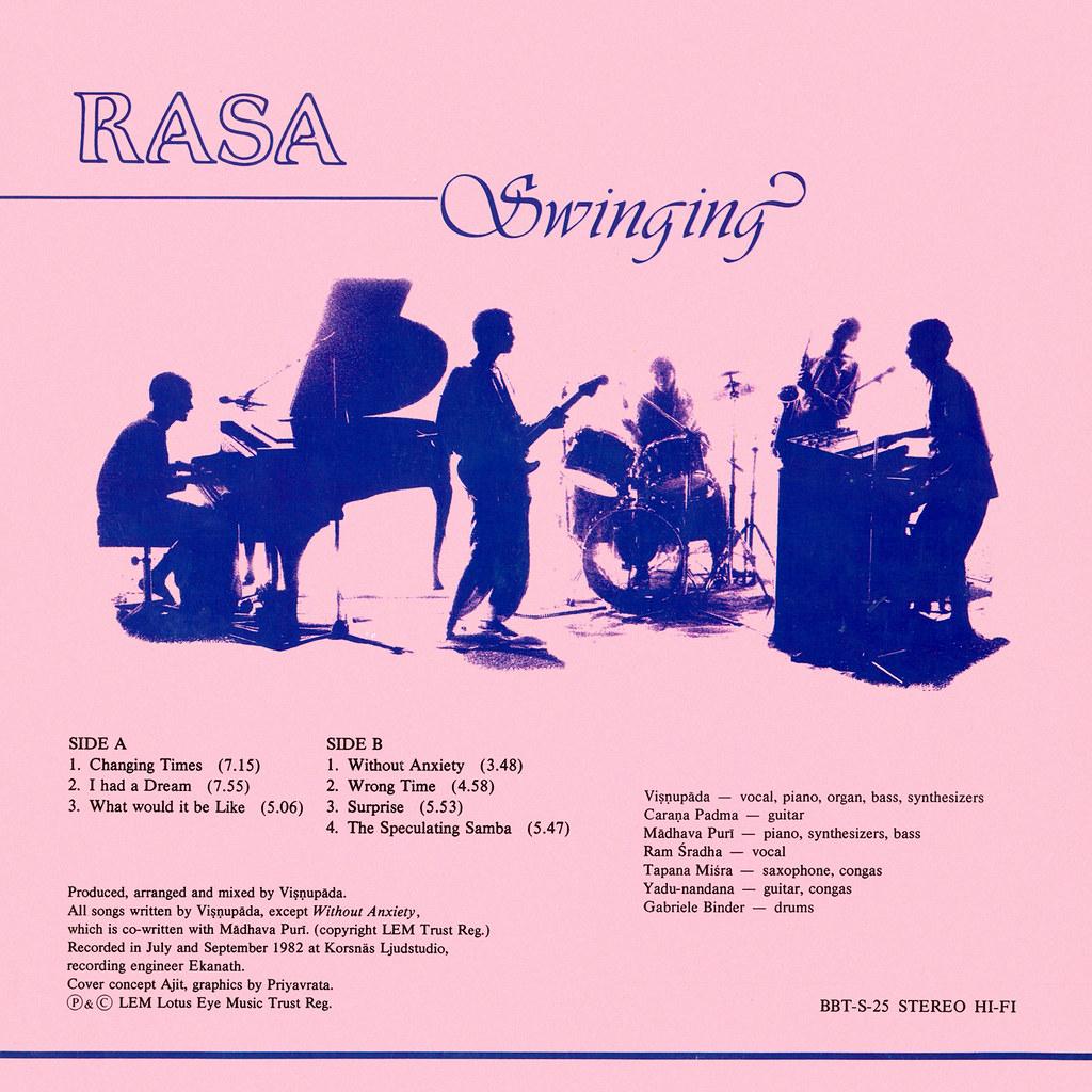 Rasa - Swinging