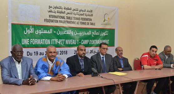 Mauritania - ITTF - PTT Level 1 Coaching Course