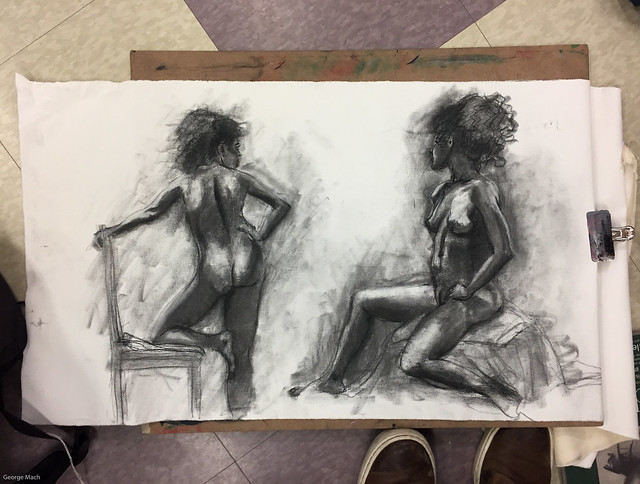 Figure Drawing - Sandy Hill-1