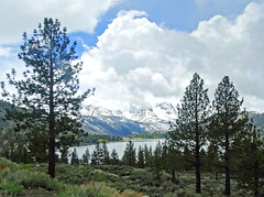 Storm Clouds over June Lake and Carson Peak, Sierra Nevada, CA 2015