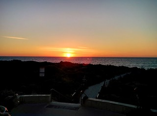 Sunset across the Indian Ocean