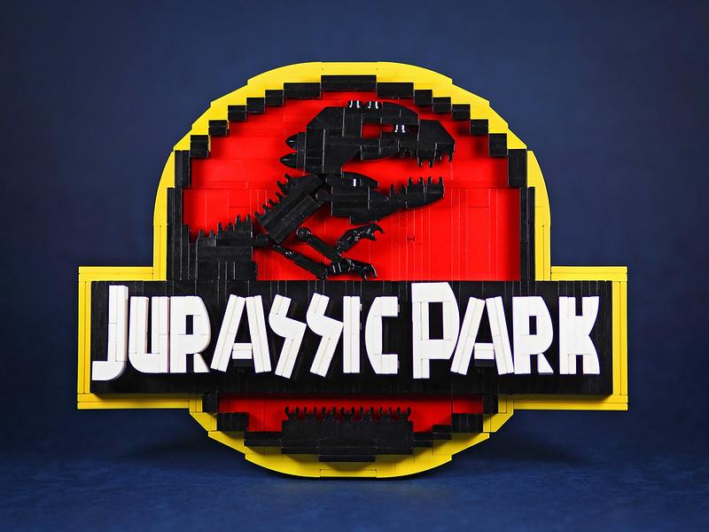 【狗神磚創Moc】Jurassic Park