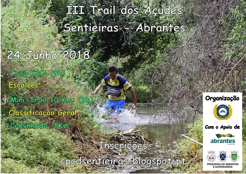 Cartaz do Trail 2018