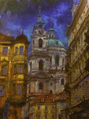 """Goghic"" Prague"