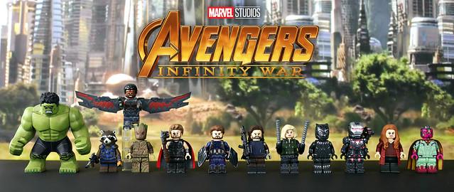 LEGO Avengers: Infinity War - Team Wakanda