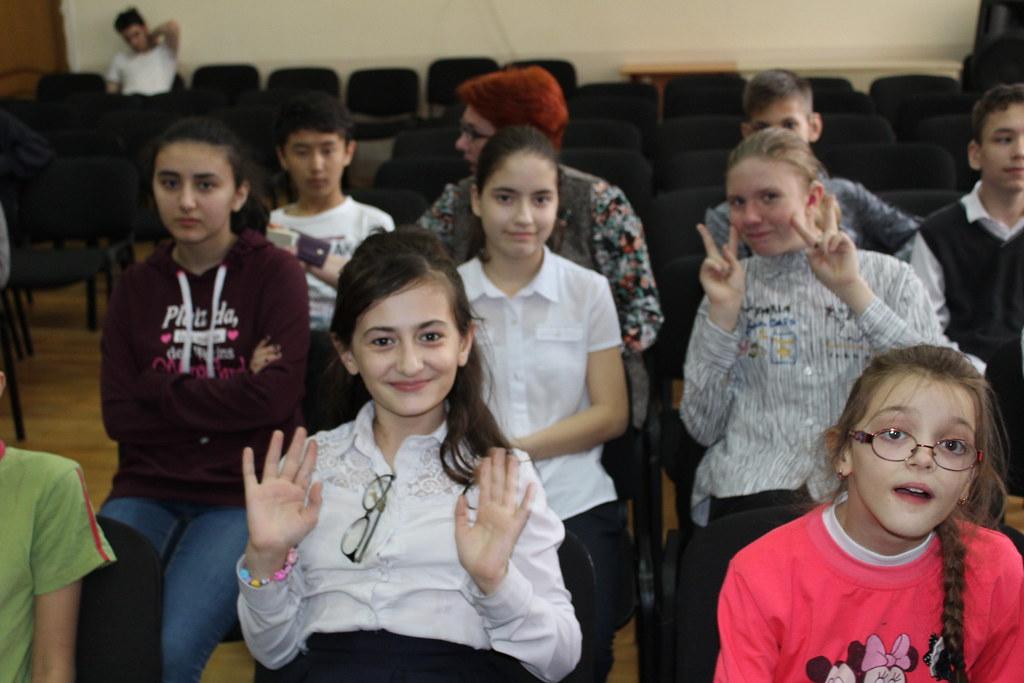 Воспитанники воскресной школы «Княжичи» посетили учеников Специальной коррекционной школы-интерната №65