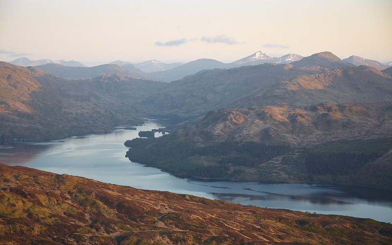 Loch Katrine From Ben Venue [5D2_7022]