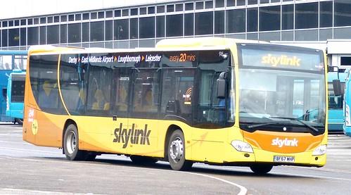 BF67 WHP 'Kinchbus' No. 916, 'Skylink'. Mercedes-Benz Citaro /2 on Dennis Basford's railsroadsrunways.blogspot.co.uk'