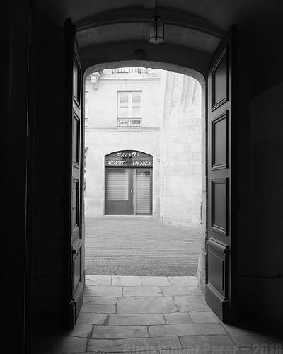 Bordeaux ~ 2018 in B&W
