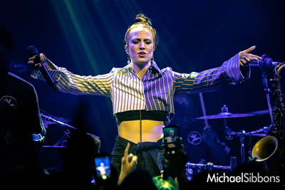 Jess Glynne at the Jazz Cafe, London, UK - 17th May 2018