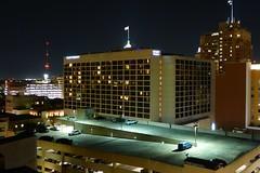 Hyatt Regency San Antonio at night