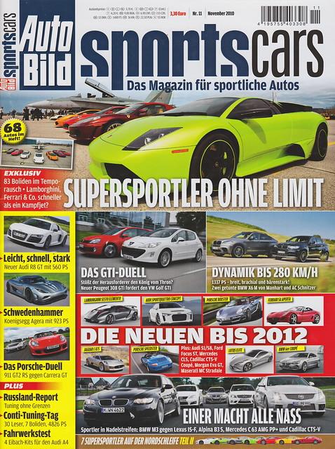 Auto Bild Sportscars 11/2010