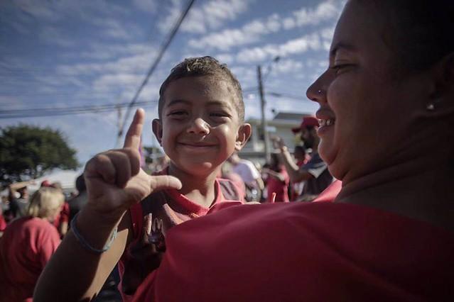 Ao longo dos 30 dias, as pessoas acampadas receberam certxa de 25 toneladas de alimentos doados - Créditos: Mídia Ninja