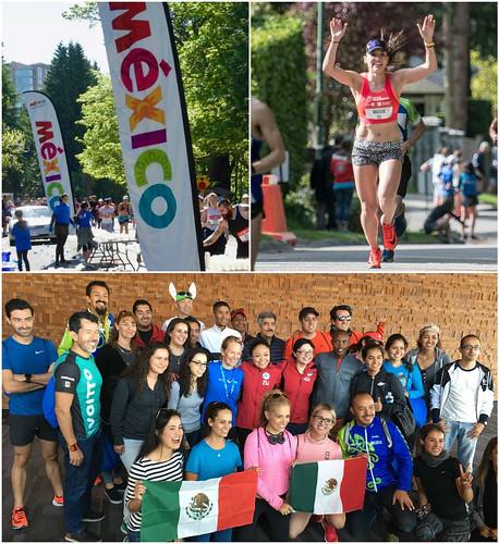 Los mexicanos en el Maratón de Vancouver 2018
