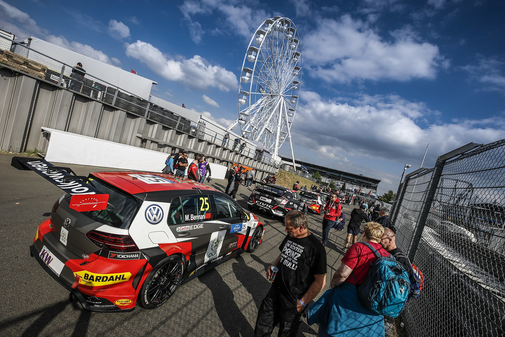 BENNANI Mehdi (MAR), Sebastien Loeb Racing, Volkswagen Golf GTI TCR, paddock atmosphere  during the 2018 FIA WTCR World Touring Car cup of Nurburgring, Nordschleife, Germany from May 10 to 12 - Photo Florent Gooden / DPPI