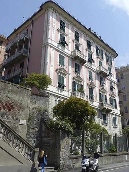 immeuble rose