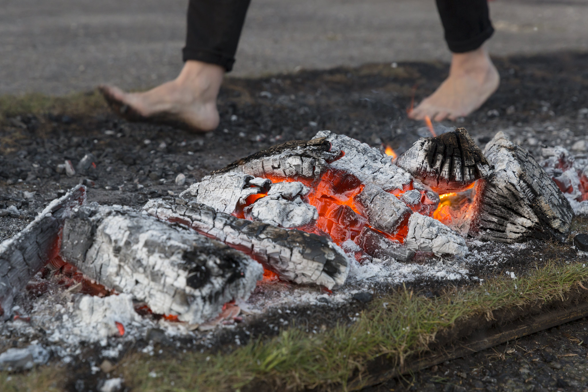 Buster's Charity Firewalk May 2018