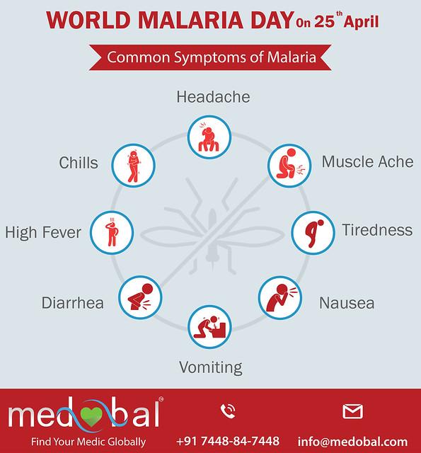 25th April World Malaria Day - Medobal