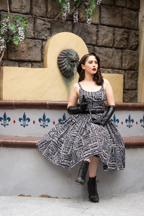 Sarsparilly Black Magic Harry Potter Inspired Dress