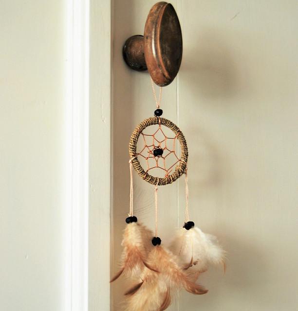 Oude deurkruk dromenvanger