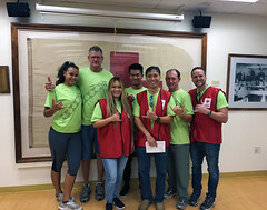 Hawaiian Electric at Sound the Alarm – May 5th , 2018: Here's a group photo of our volunteers!