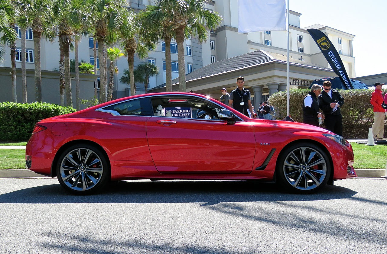 Infiniti Q60 Red Sport 400 AWD Review 11