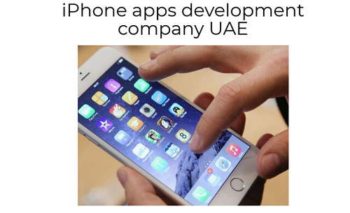 iPhone apps development company UAE