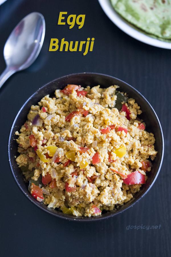 Egg Bhurji Recipe by GoSpicy.net