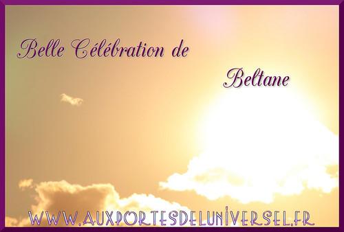Aux Portes de l'Universel vous souhaite un joyeux Beltane