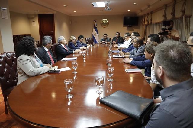 Reunión con representantes de la alianza TPS-National TPS Alliance.