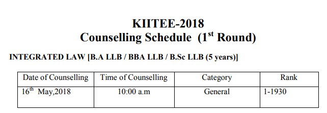 KIIT Counselling