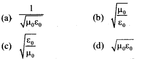 NEET AIPMT Physics Chapter Wise Solutions - Electromagnetic Waves 13