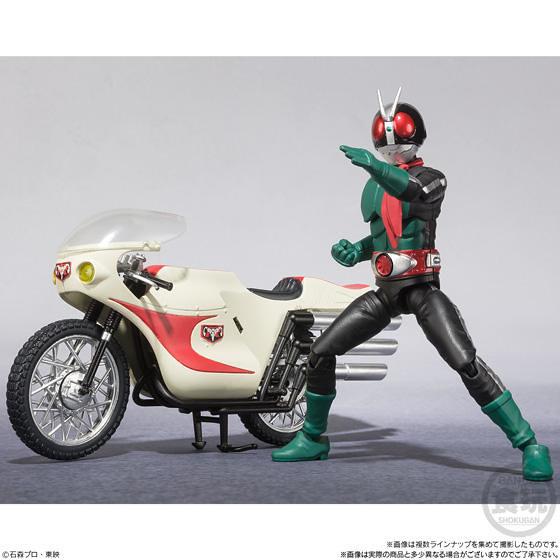 《假面騎士》掌動 嶄新「SHODO-X」系列 第一彈『假面騎士1號』!SHODO-X 仮面ライダー1