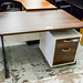 1200L walnut desk E125