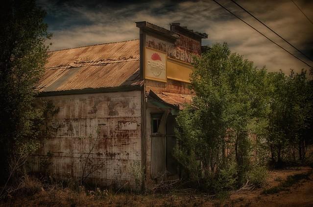 Reclamation by Nature. Weston,Colorado