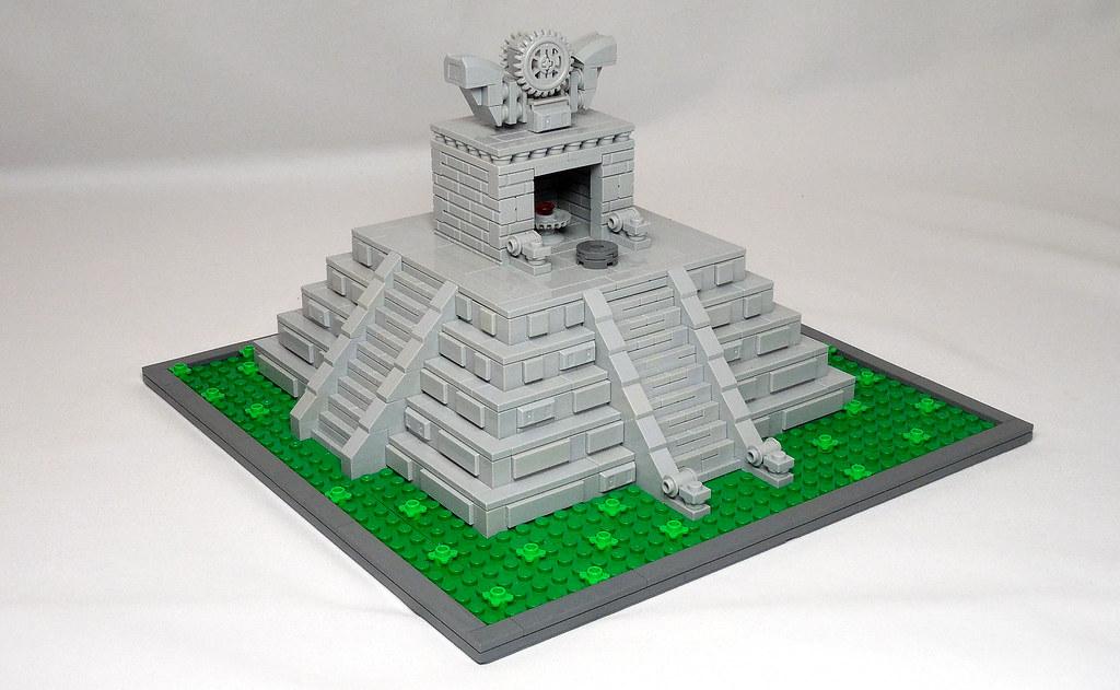 LEGO® MOC by Vitreolum: Bloodstone Temple