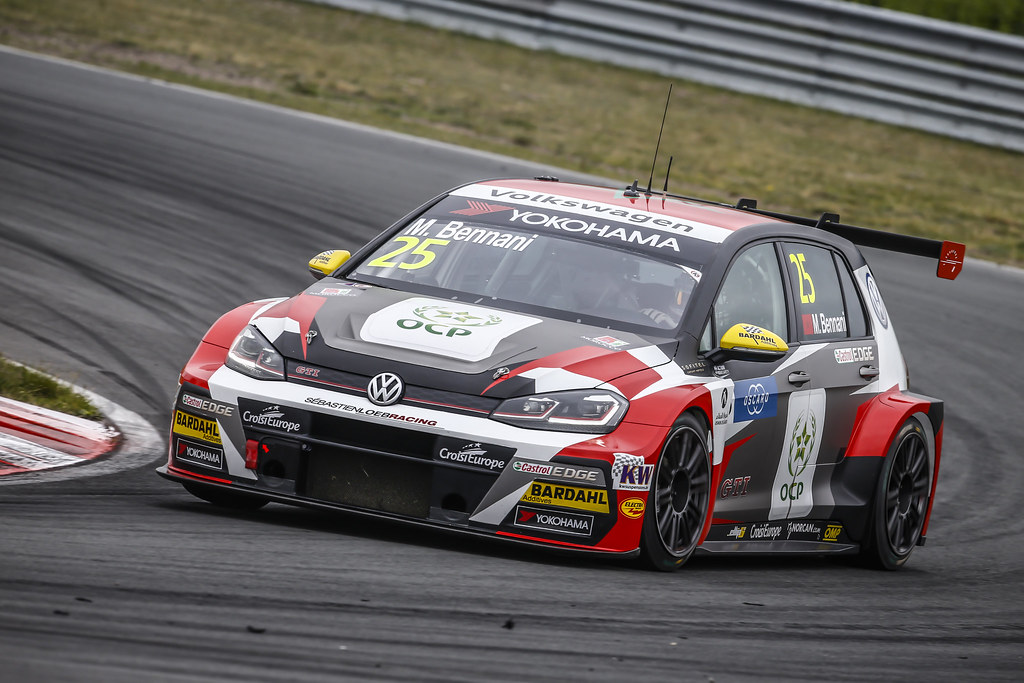 25 BENNANI Mehdi (mar), Volkswagen Golf GTI TCR team Sebastien Loeb Racing, action during the 2018 FIA WTCR World Touring Car cup of Zandvoort, Netherlands from May 19 to 21 - Photo Francois Flamand / DPPI