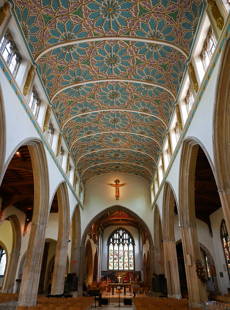 Chelmsford cathedral inside, Panasonic DMC-GX80, OLYMPUS M.12-50mm F3.5-6.3