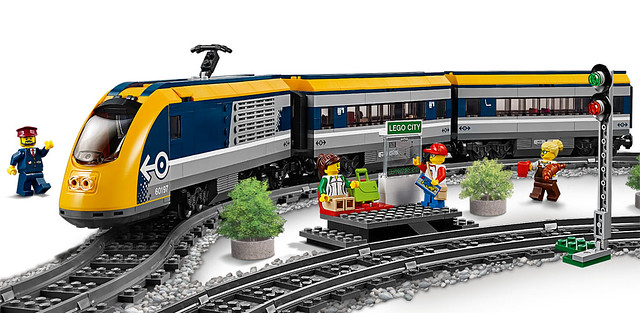 LEGO City 60197 Le train de passager