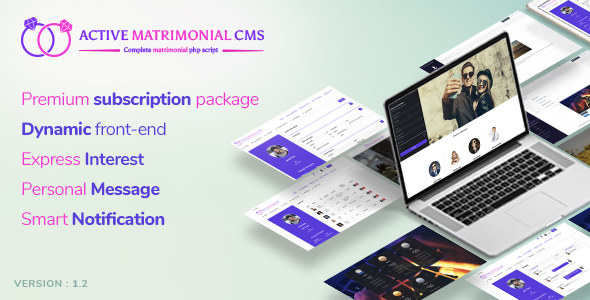Active Matrimonial CMS v1.2