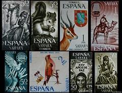 Sahara Español - Sellos
