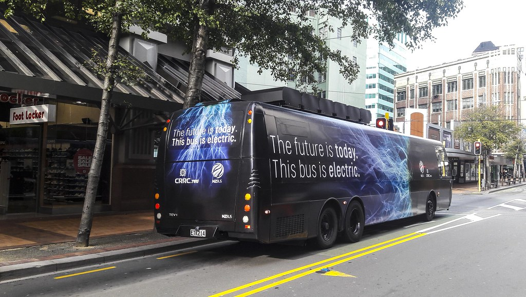 NZ Bus -Test Electric bus -
