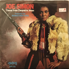 JOE SIMON:THEME FROM CLEOPATRA JONES(JACKET A)