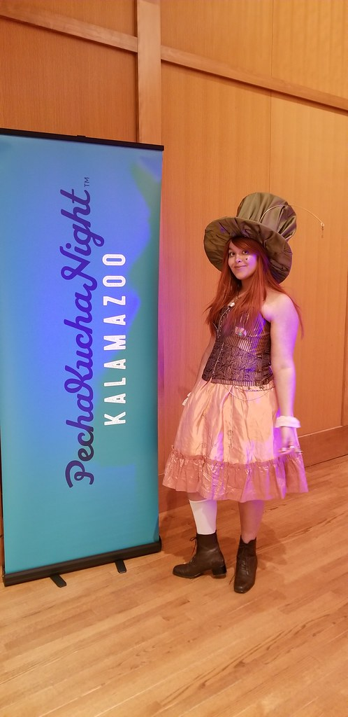 Lillie Cosplays: Sharing Cosplay Culture at PechaKucha Kalamazoo